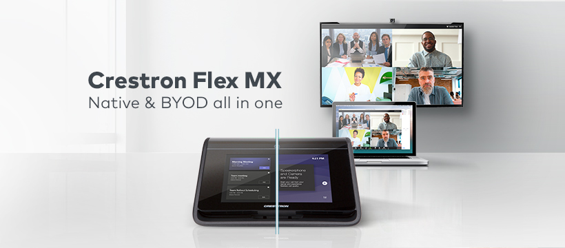 Crestron Flex MX: conferencias para todos sin restricciones.