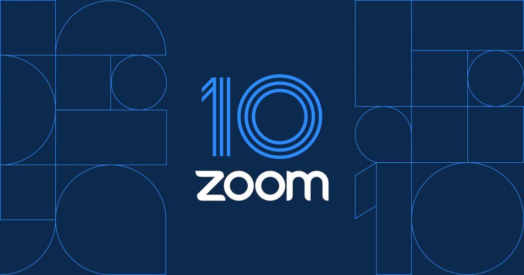 Zoom Celebra 10 Años de conectar.